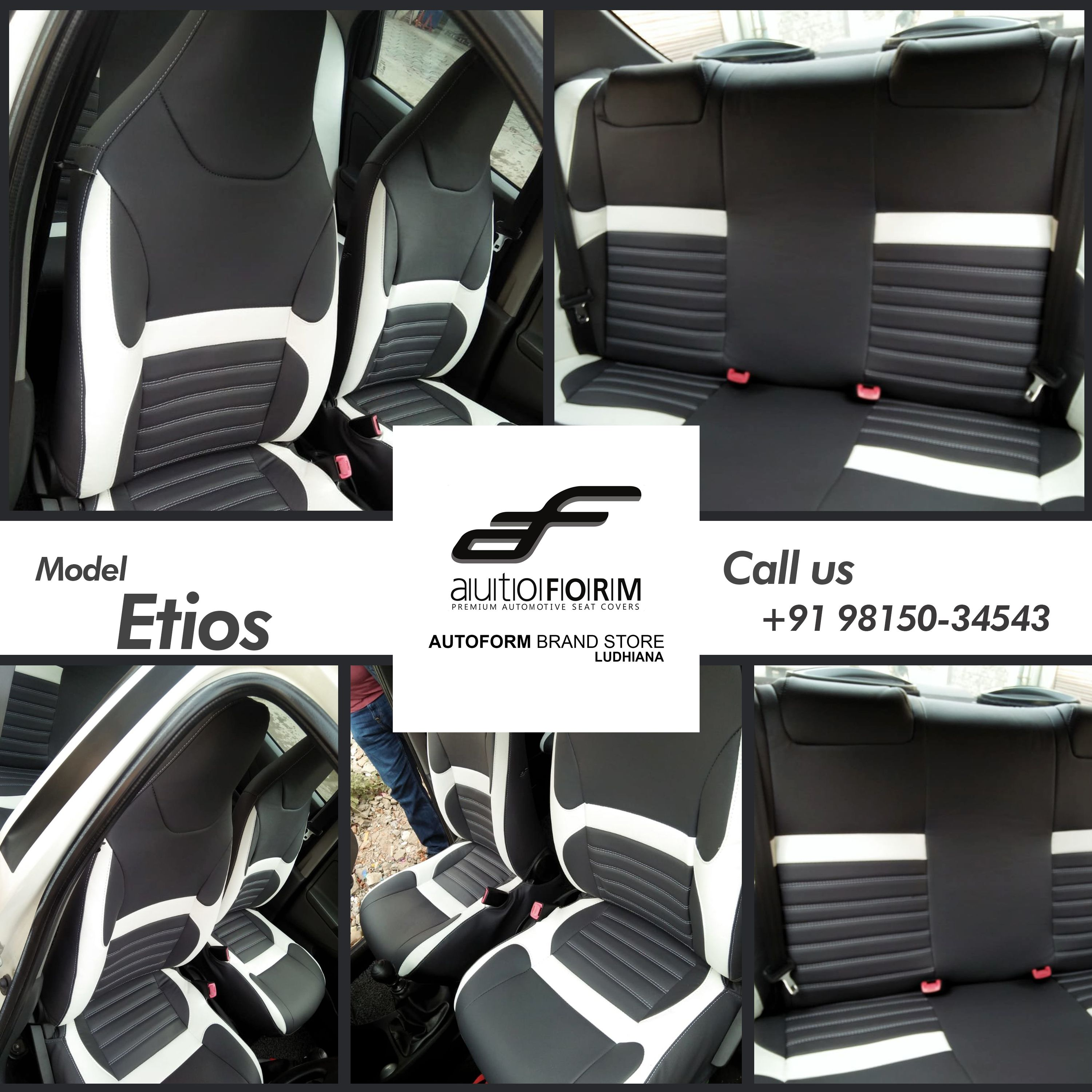 Toyota Etios Seat Are Suited With Branded Riviera Series Car Seat