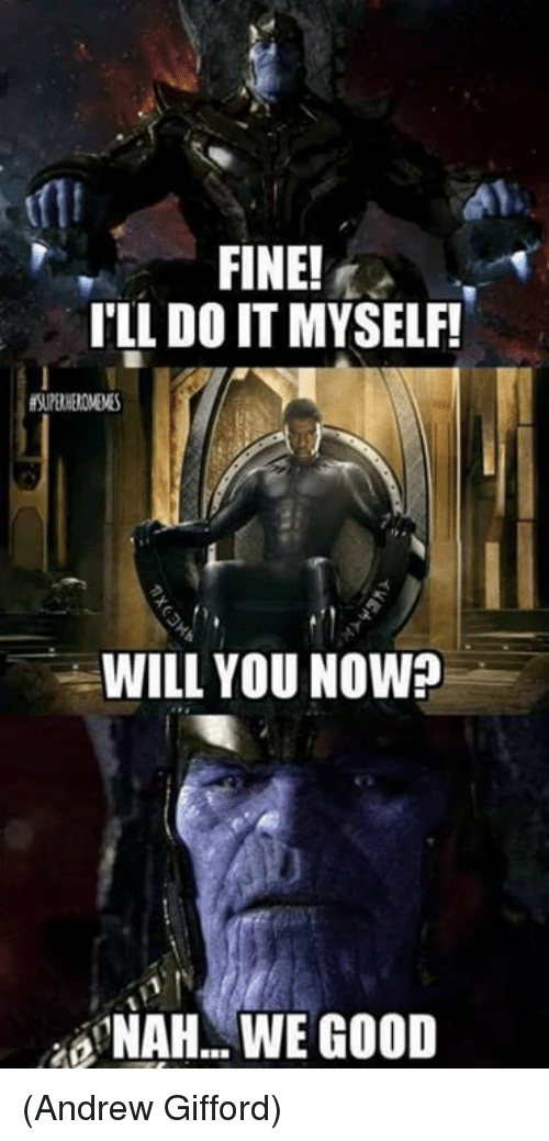 40 Hilarious Thanos Family Memes That Will Have You Roll On The