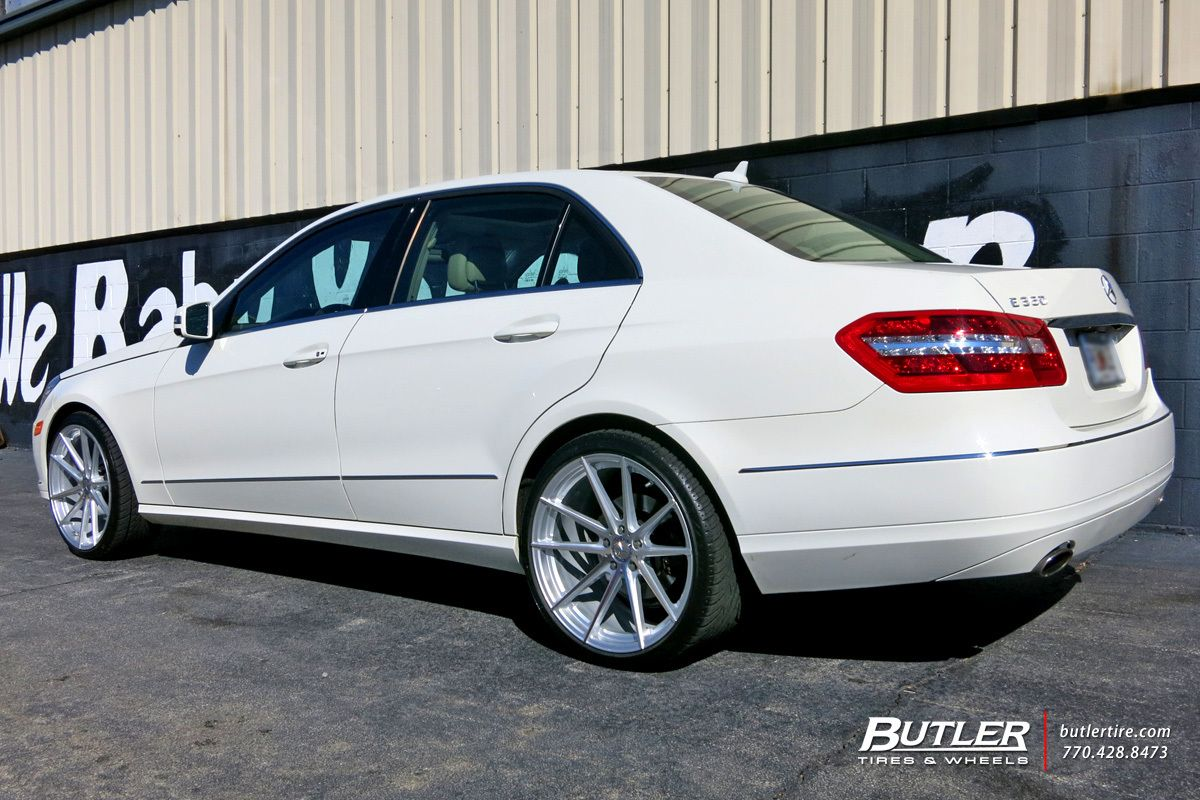 Mercedes E Class With 20in Tsw Bathurst Wheels Fly Autos Designdautorecom Creative Creations From Recycled Circuit Board