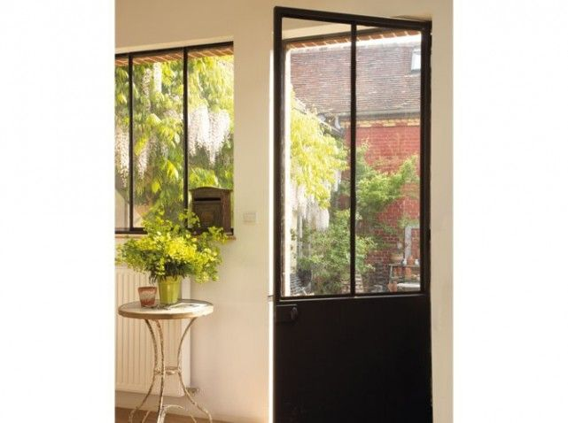 Porte Datelier Design Pinterest Extensions Doors And Deco - Porte intérieure style atelier