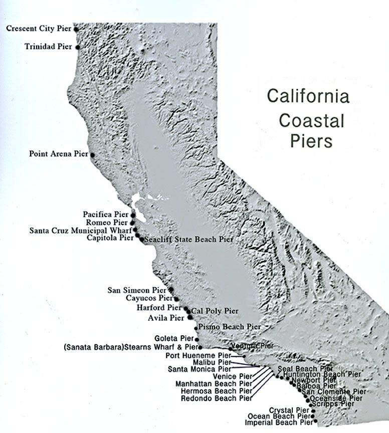 California Piers Google Search California Fun Pinterest