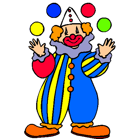 Dessin Clown Couleur Gn41 Jornalagora