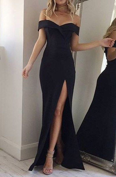 One for the Money Dress in Black | Gowns & Evening Dresses ...