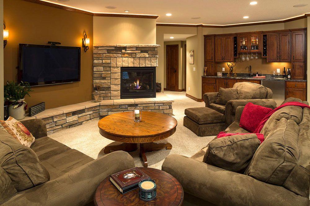 Basement Makeover Ideas For A Cozy Home 48 Favorite Places Spaces Simple Basement Makeover Ideas