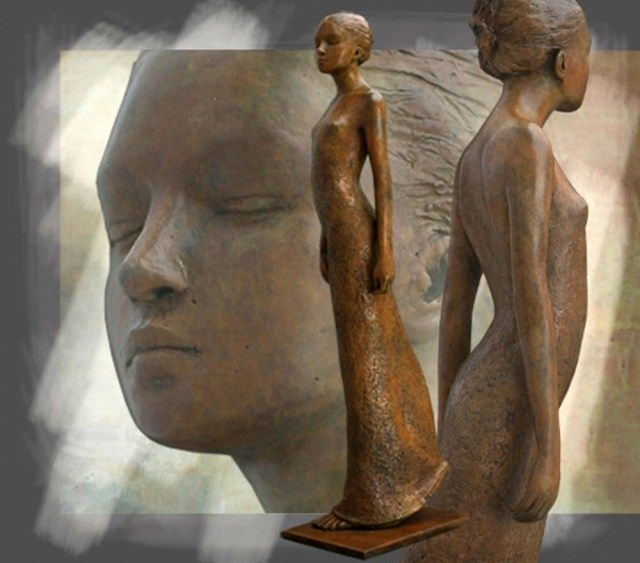 скульптор berit hildre