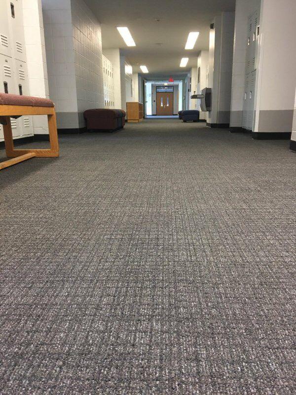 Ef Contract S Batiste Available In Carpet Tile And Broadloom Shown Church Design Carpet Tiles Church Decor