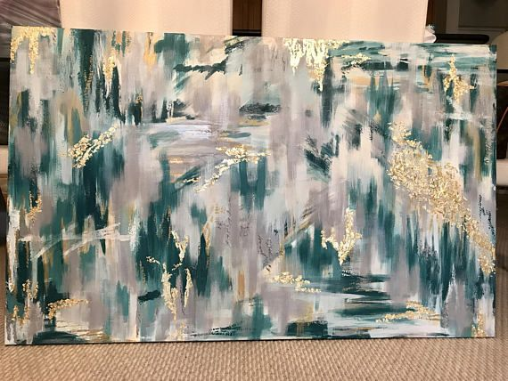 Art foil Asian canvas