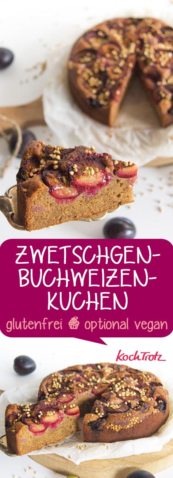 Saftiger Glutenfreier Zwetschgen Ruhrkuchen Glutenfrei Optional