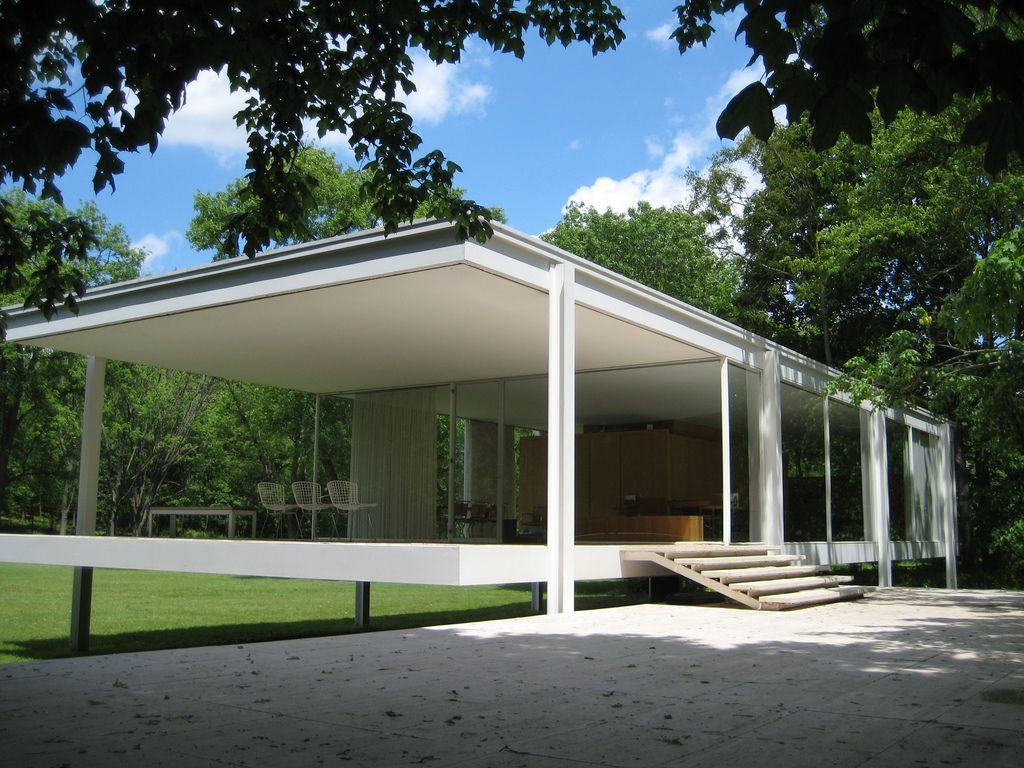 Maison moderne : Mies van der Rohe - Maison Farnsworth ...