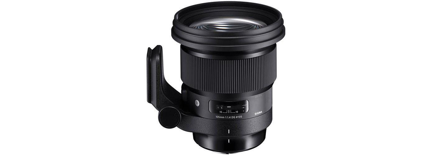 Sigma 105mm f14 dg art hsm lens for sony emount cameras