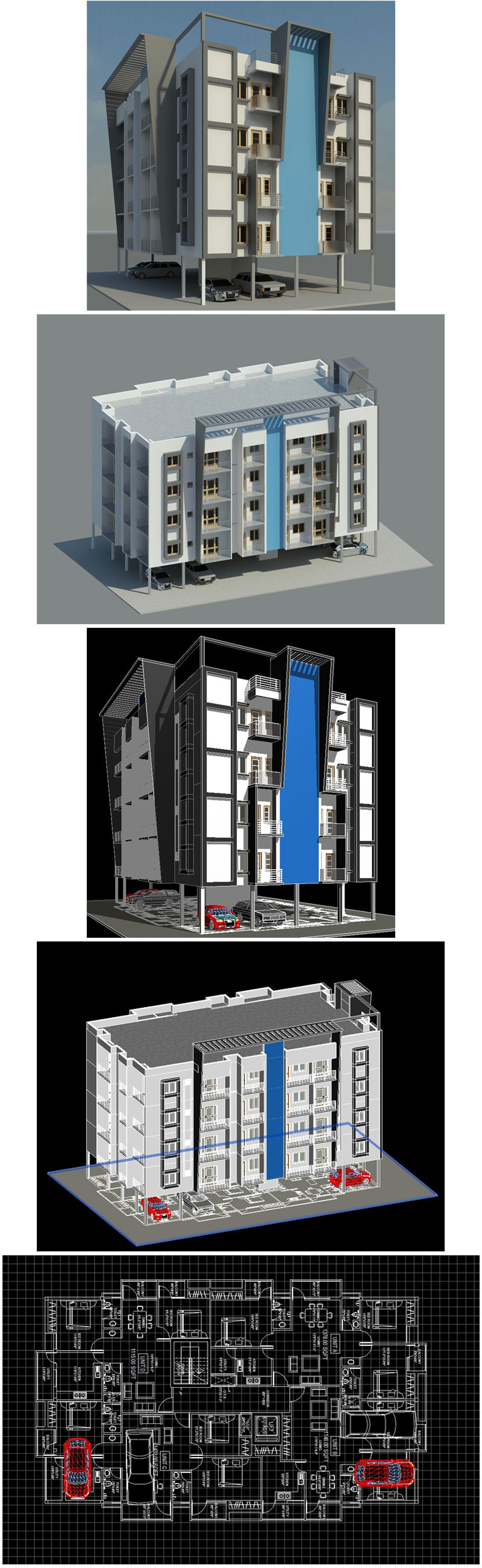 Download this Architecture BIM 3D Models(* rvt file for… | AutoCAD