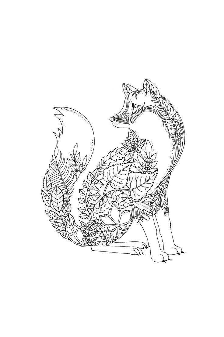 Get Lost In This Intricate Coloring Book Full Of Fairytale Fauna And Hidden Secrets You Ll Expand Your Cre Raskraski Besplatnye Raskraski Udivitelnye Risunki