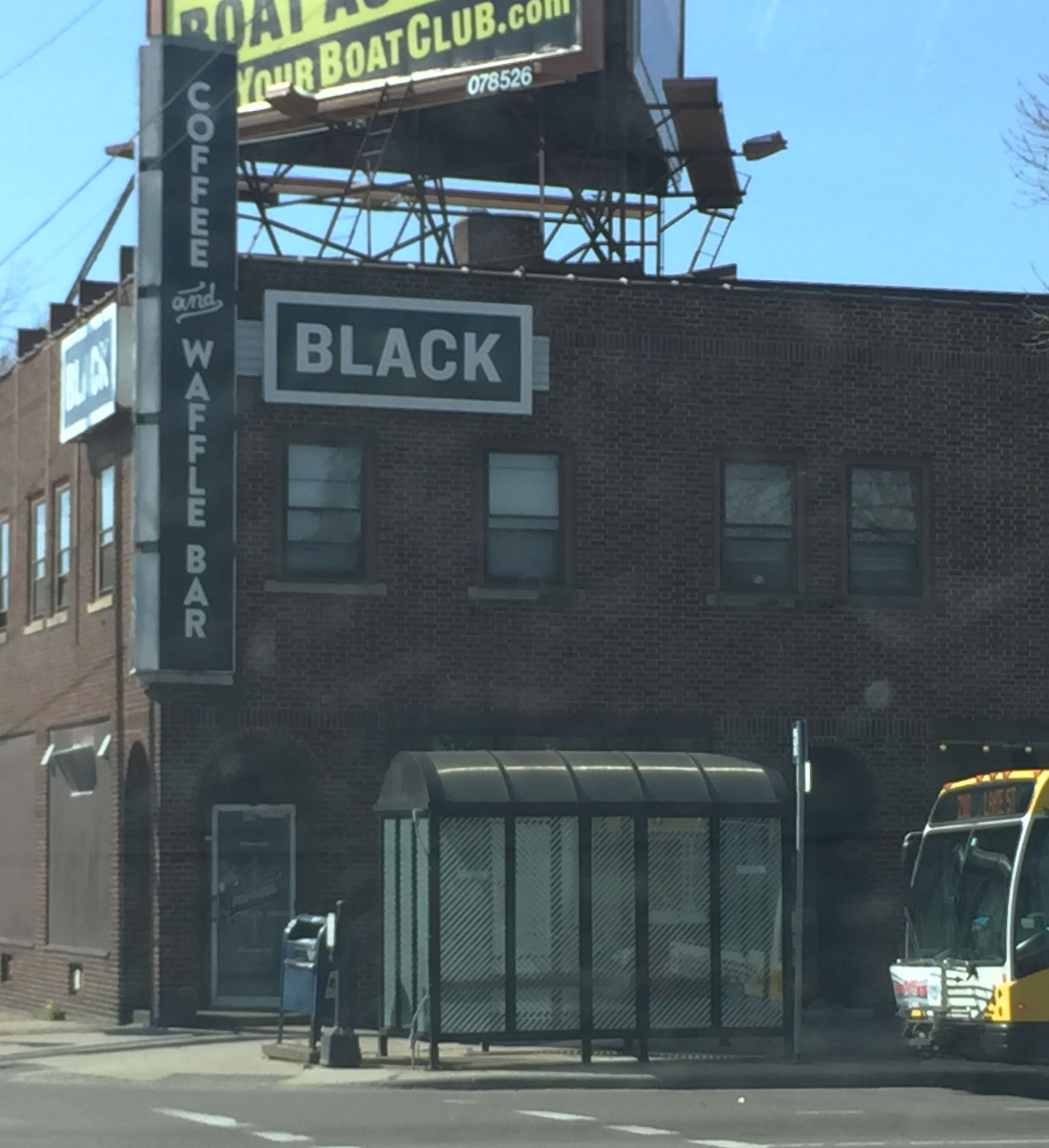 May Opening Likely For St Paul S Black Coffee And Waffle Bar Waffle Bar Black Coffee Waffles