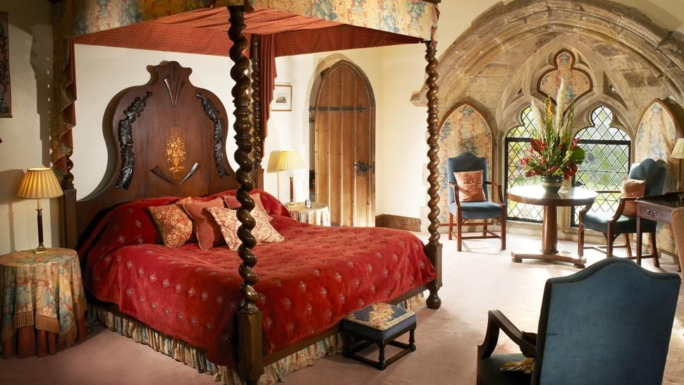 amberley castle west sussex england love the bed