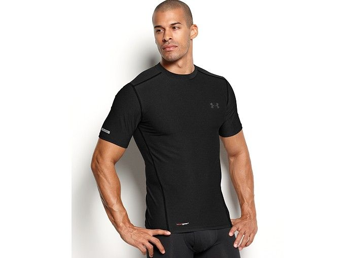 Under Armour Men's Athletic HeatGear® Performance Crew-Neck T-Shirt 2-Pack - Underwear - Men - Macy's