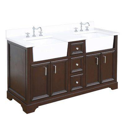 Best Kitchen Bath Collection Zelda 60 Double Bathroom Vanity 400 x 300