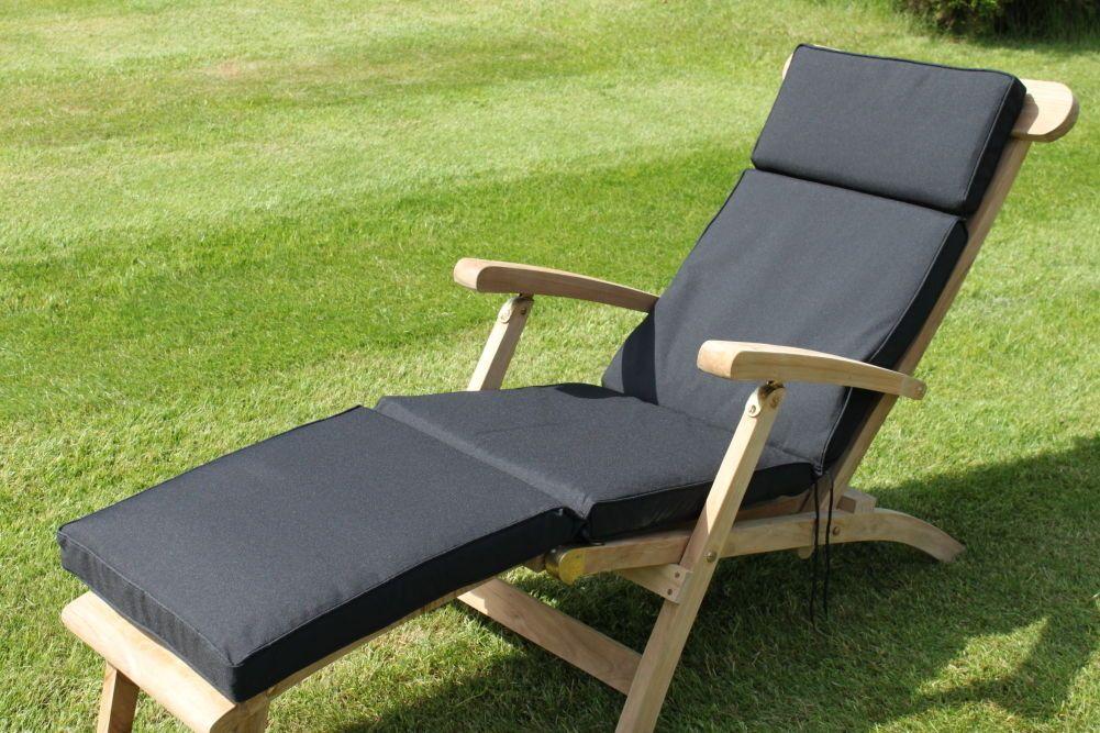Garden Furniture Cushion Garden Steamer Chair Cushion Available In 7 Colours Furniture Garden Furniture Cushions