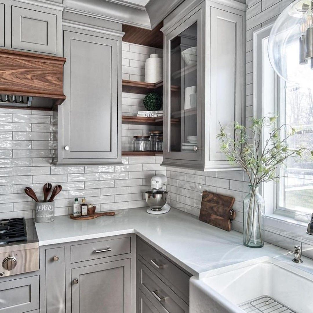 gray kitchen cabinets selection you will love 2020 updated in 2020 grey kitchen designs on kitchen decor grey cabinets id=78177