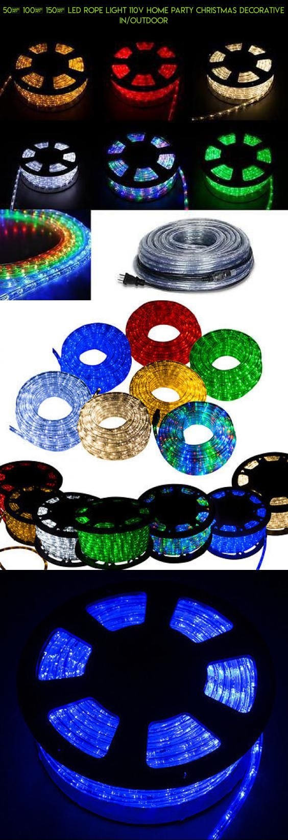 50 100 150 led rope light 110v home party christmas decorative 50 100 150 led rope light 110v home party christmas decorative in aloadofball Image collections