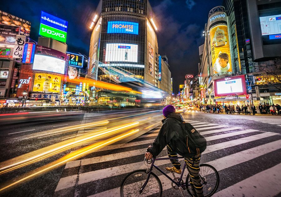 Shibuya is an amazing place, and I go every time I am in Tokyo. The people are really incredible… the energy, the lights, the music, the everything! Maybe I'm even more drawn to it because I live in a small town now, you know? - Tokyo, Japan - Photo from #treyratcliff Trey Ratcliff at http://www.StuckInCustoms.com
