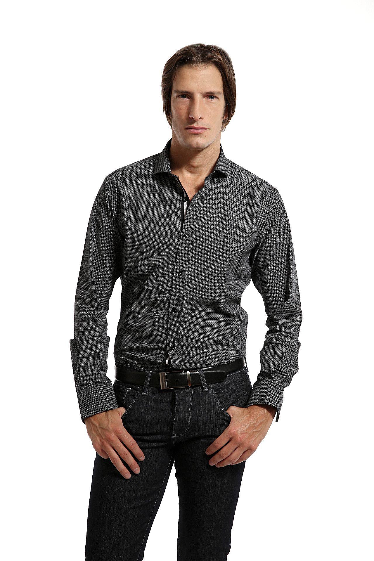 Camisa Mauricio Slim Fit 702