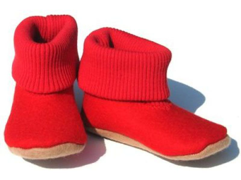 1571e1db224 Red Boot Slippers by Supernana - Buy Now