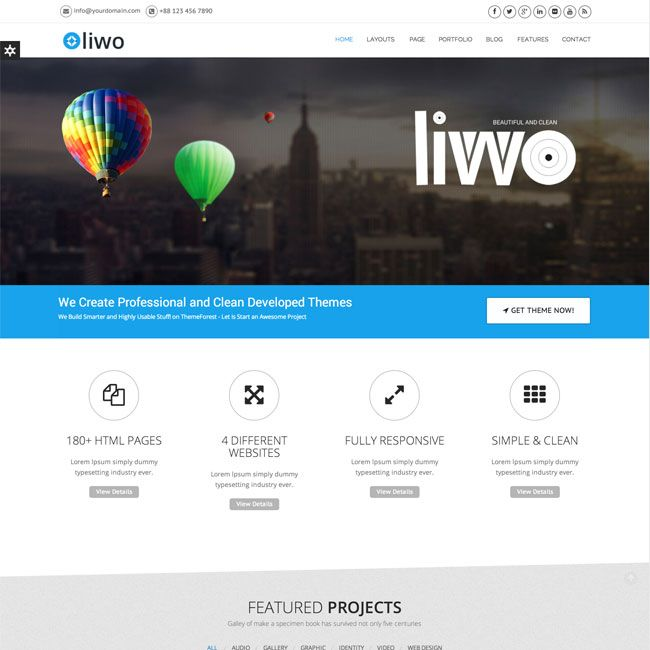 Liwo Responsive MultiPurpose WordPress Theme | Best WordPress Themes ...