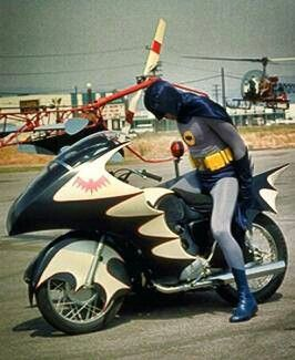 On Batcycle. How does this thing work?