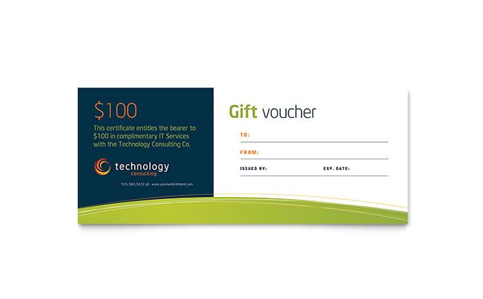Template Desain Voucher - Download Free PDF Template Desain - gift certificate template in word