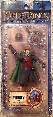 The Lord of the Rings: The Return of the King Merry action figure with Rohan armor Brand: Toy Biz Ages 5 and Up