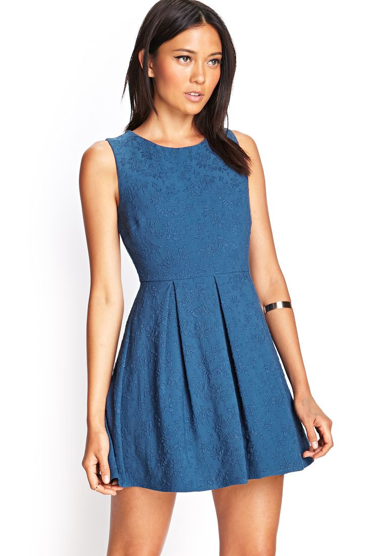 Embroidered Floral Cutout Dress | FOREVER21 - 2000122593 | Fashion ...
