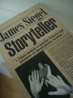 """""""Storyteller"""" de James Siegel, un super polar :-) http://www.cherche-midi.com/theme/Storyteller-James_SIEGEL_-9782749110295.html"""