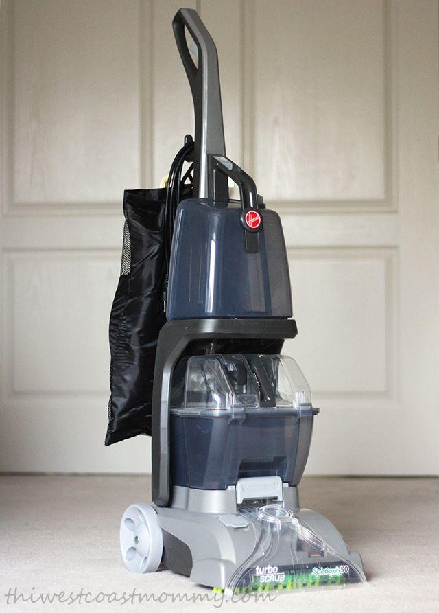 Hoover Turbo Scrub Hoover Cleaner, Winner Winner Chicken Dinner, White Carpet, Best Carpet