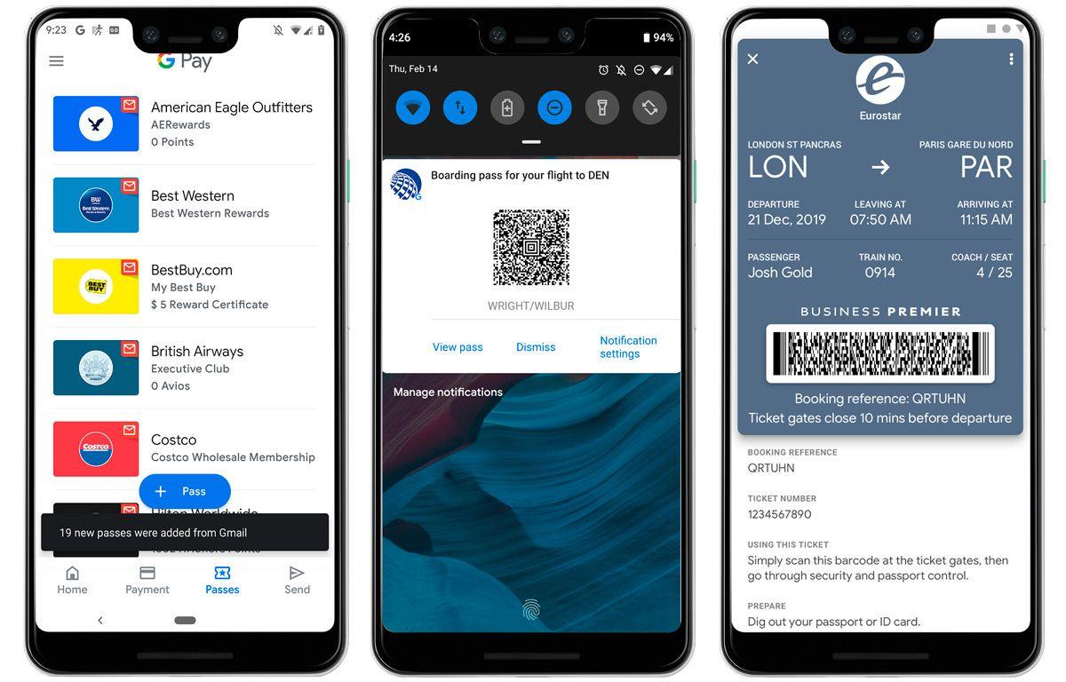Google Copia El Passbook De Apple En Google Pay Tarjeta De