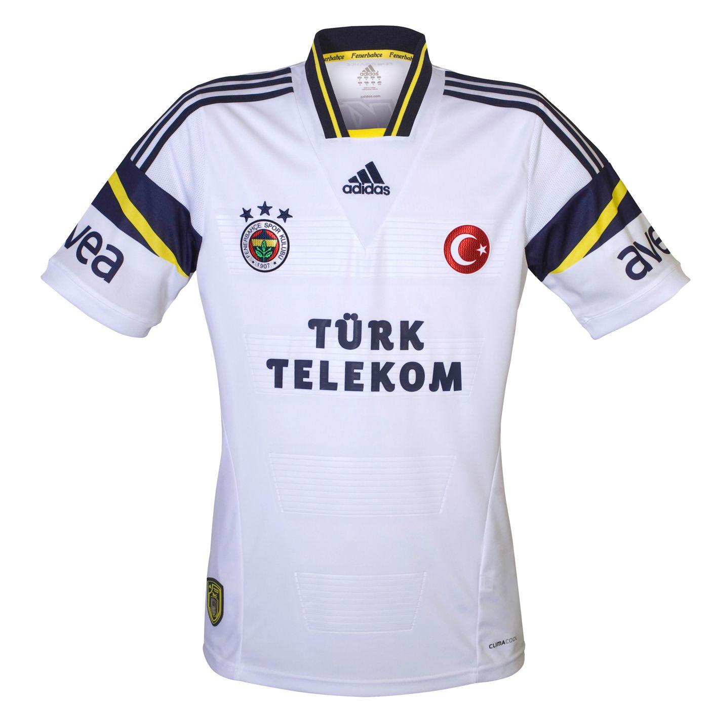aa6e8b7df Fenerbahçe SK (Turkey) - 2013 2014 Adidas Third Shirt