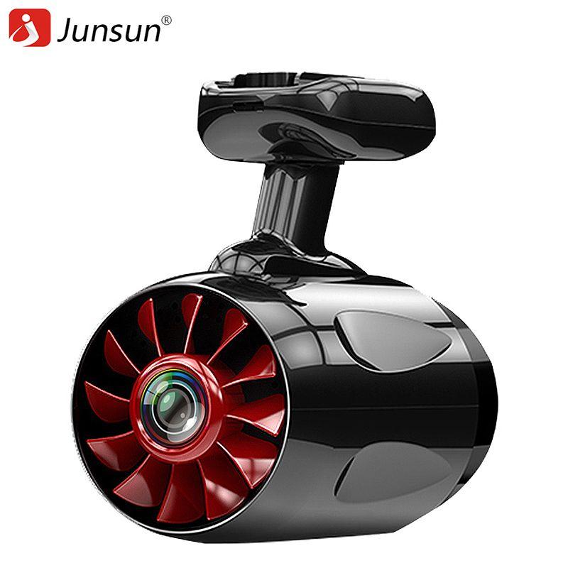 Junsun a12 wifi câmera do carro dvr ambarella dashcam adas ldws instantâneo super fhd 1296 p gps gravador de vídeo remoto sem fio camcorder