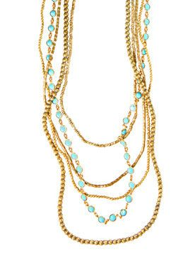 1af4ddba7 5 Layer Large Crystal Ethiopian Necklace | Jewelry | Large crystals ...