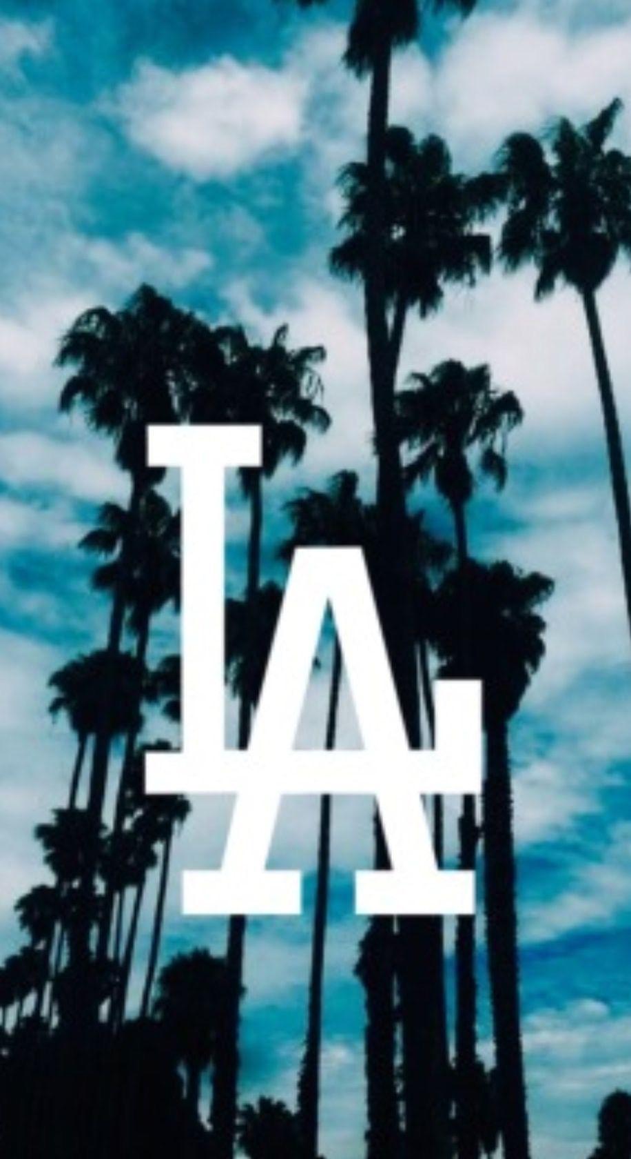 Dodgers Doyers La dodgers logo, California wallpaper