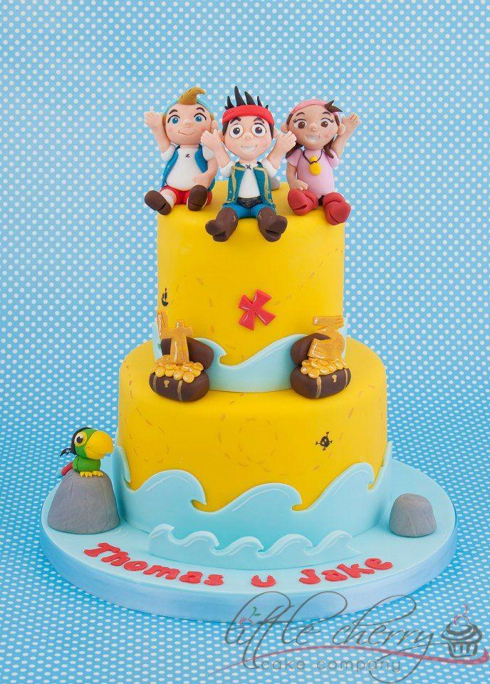 Jake the Neverland Pirates Cake Little Cherry Cake Company