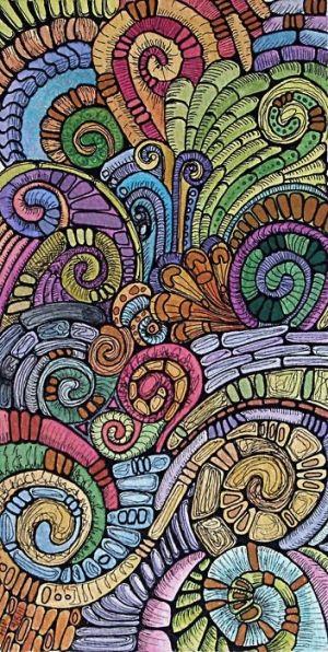 colorful doodles