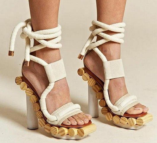 Alexandre Birman Cork Sandals