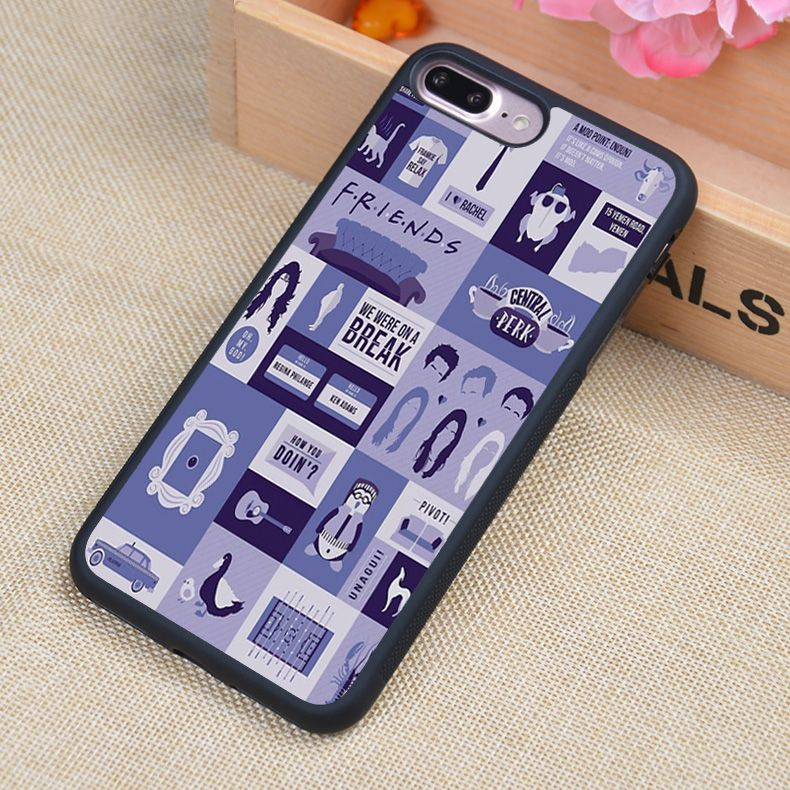 Friends TV Show Poster Printed Soft TPU Mobile Phone Cases