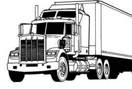 Semi Truck Coloring Pages Bing Images Projects To Try Truck