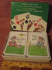 Maxine playing cards double deck jumbo index hallmark new shoebox maxine playing cards double deck jumbo index hallmark new shoebox greetings m4hsunfo Image collections