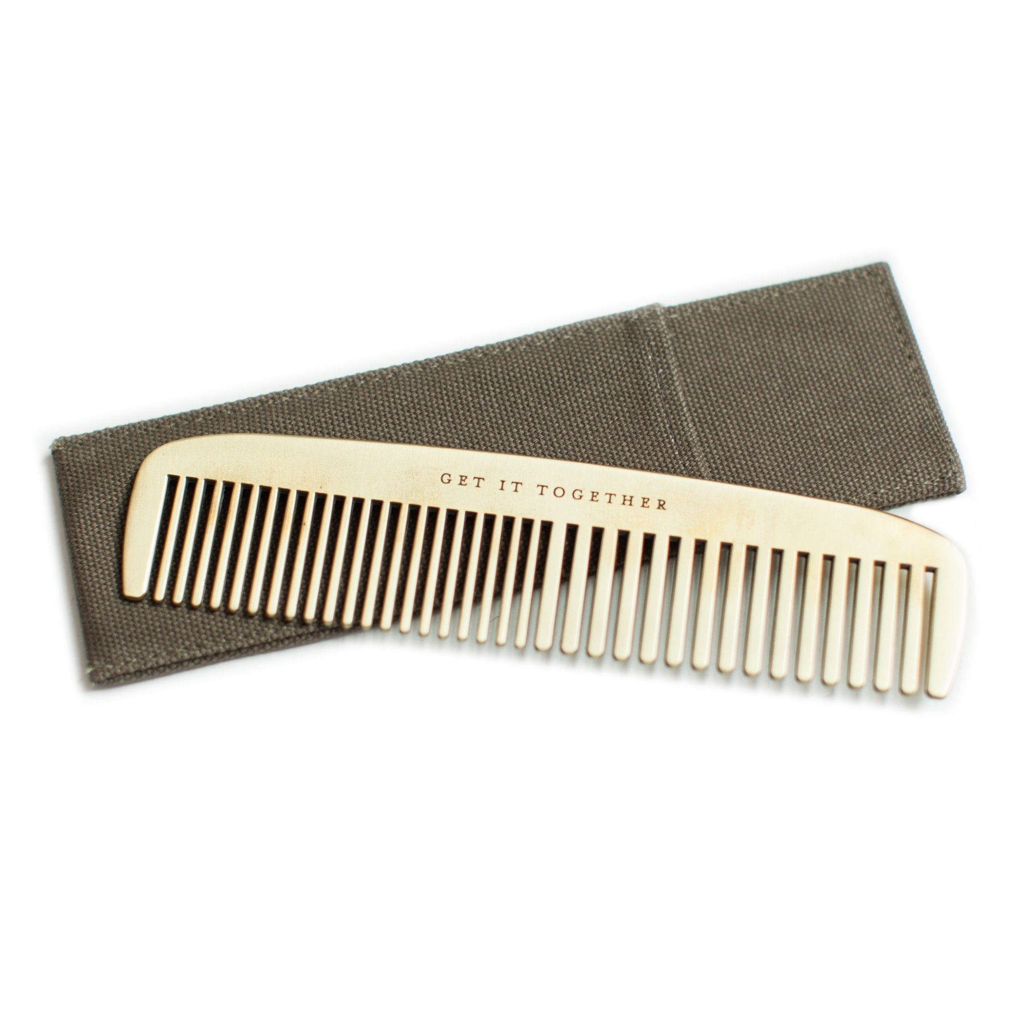 Get It Together Brass Comb by Izola