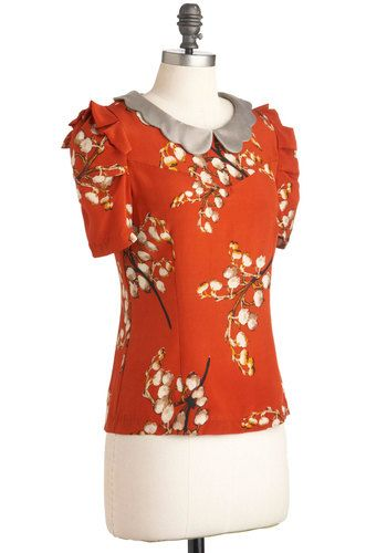 bf69f4334dcedc Glam Garnish Sleeveless Knit Top in Black. Frilly of the Valley Top in  Orange, #ModCloth