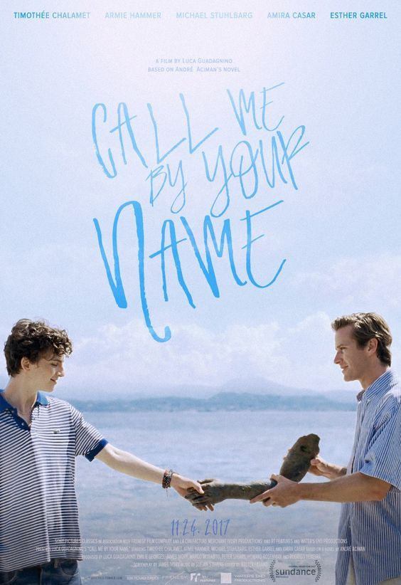 Image result for CALL ME BY YOUR NAME ( 2017 ) POSTER