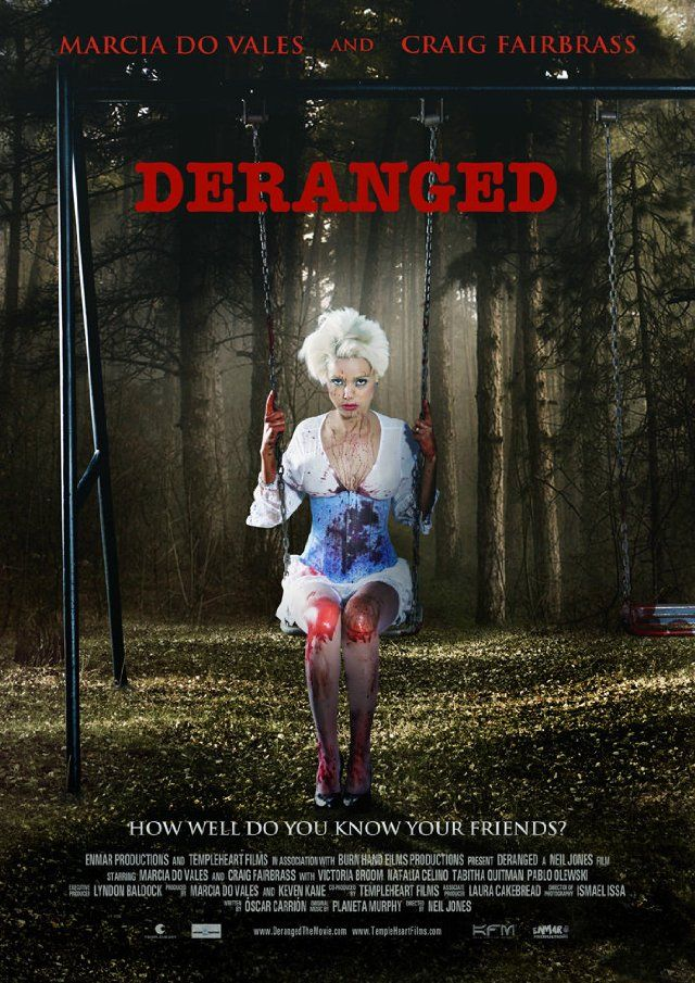 Deranged (2012) | Horror Movie Posters | Horror movie