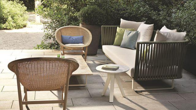 Mobilier de jardin pour terrasse design : fauteuil, table, sofa ...