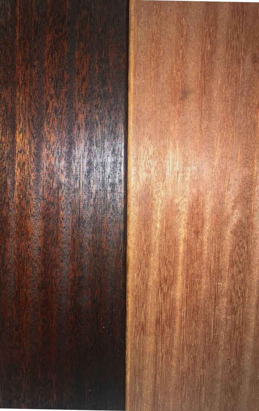 Finally A Truly Dark Wood Finish Introducing Nova S Exoshield Dark Walnut Tung Oil Finish For Hardwoods And S Staining Wood Exterior Wood Stain Exterior Wood